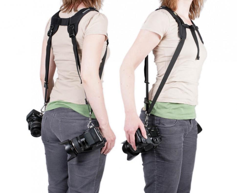 какую выбрать разгрузку для фотоаппарата
